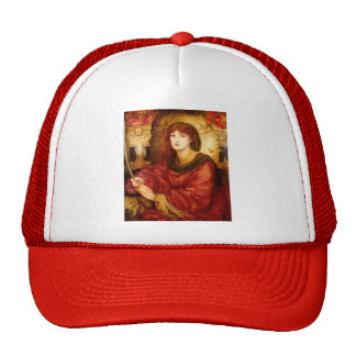 Sibylla Palmifera by Dante Gabriel Rossetti Trucker Hat