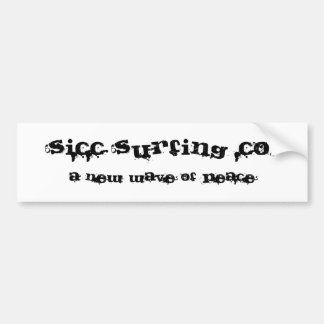 Sicc Surfing Company Stickers! Bumper Sticker