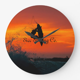 Sicc Surfing Company Wall Clock! Large Clock