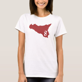 Sicilia darkred W T-Shirt
