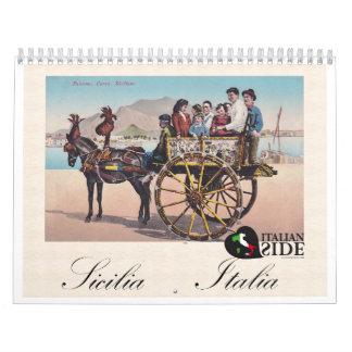 Sicilia - Italia Calendar