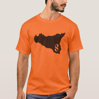 Sicilia orange and black T-Shirt