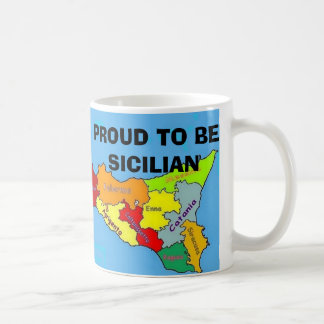 Sicilia, Proud Sicilian Coffee Mug