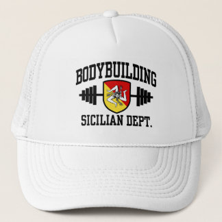 Sicilian Bodybuilder Trucker Hat