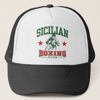 Sicilian Boxing Trucker Hat