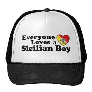 Sicilian Boy Mesh Hat