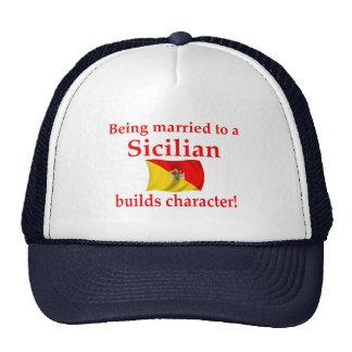 Sicilian Builds Character Trucker Hat