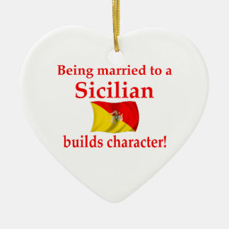 Sicilian Builds Character Christmas Ornament