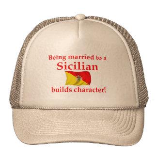 Sicilian Builds Character Hats