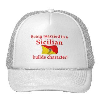 Sicilian Builds Character Trucker Hats