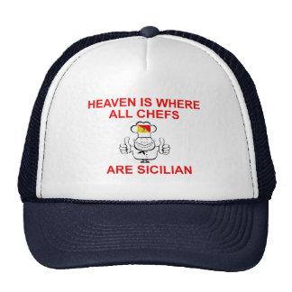 Sicilian Chefs Trucker Hat
