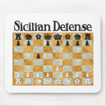 Sicilian Defence Mouse Pad