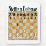 Sicilian Defence Mouse Pad
