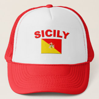 Sicilian Flag 1 Trucker Hat