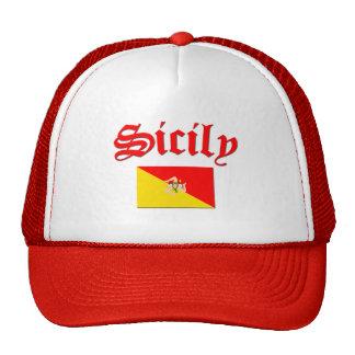 Sicilian Flag 2 Cap