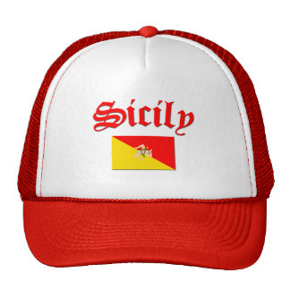 Sicilian Flag 2 Mesh Hats