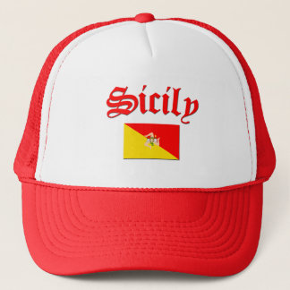 Sicilian Flag 2 Trucker Hat