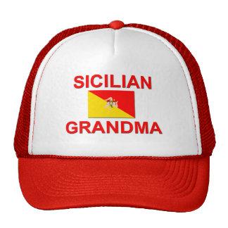Sicilian Grandma Cap