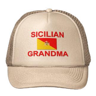 Sicilian Grandma Trucker Hat