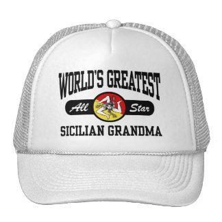 Sicilian Grandma Mesh Hat