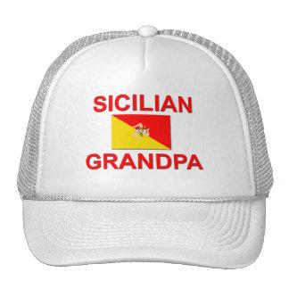 Sicilian Grandpa Trucker Hat