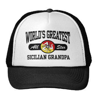 Sicilian Grandpa Mesh Hat