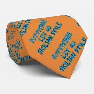 Sicilian Style Fun Tie--Let it go Tie