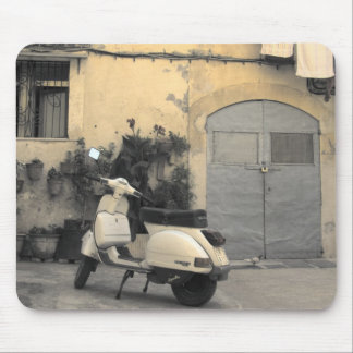 Sicilian typical corner mouse mat