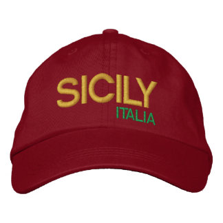 Sicily Baseball Hat cappello da baseball Sicilia Embroidered Hats