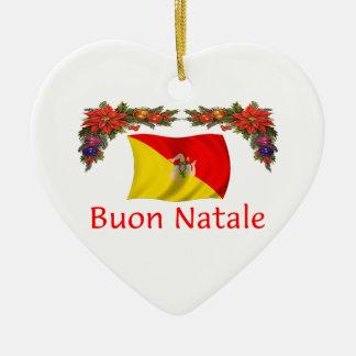 Sicily Christmas Christmas Ornament