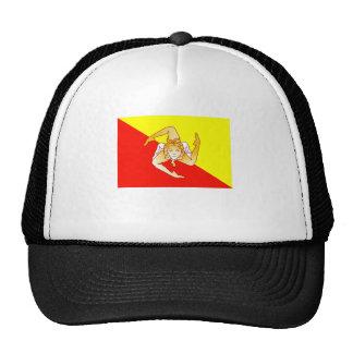 Sicily Flag Hats