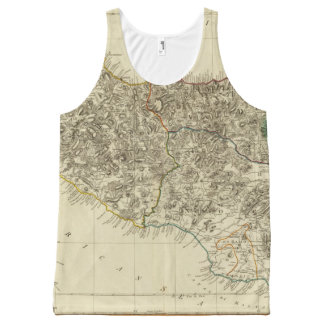 Sicily, Italy All-Over Print Tank Top