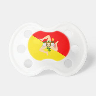 Sicily (Italy) Flag Pacifiers