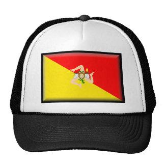 Sicily (Italy) Flag Trucker Hat