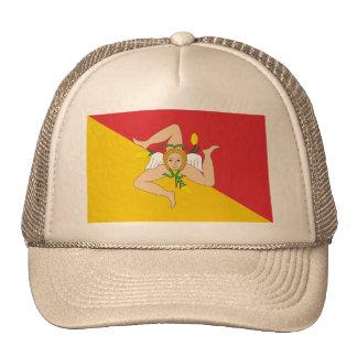 Sicily, Italy Trucker Hats