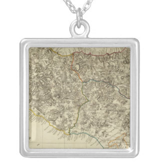 Sicily, Italy Silver Plated Necklace