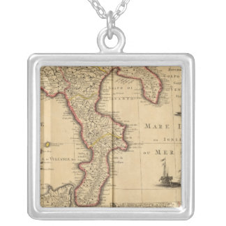 Sicily Italy Silver Plated Necklace
