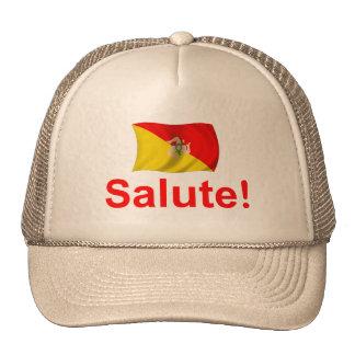 Sicily Salute! Trucker Hat