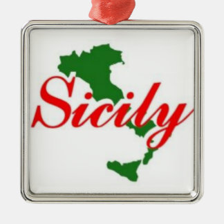 SICILY - THE ITALIAN ORNAMENT FOR YOUR TREE