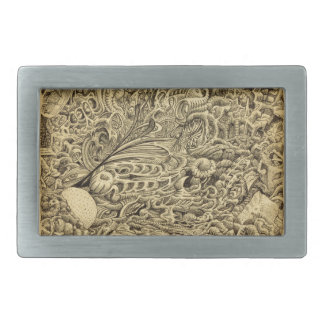 Sick Chamber_by Brian Benson Rectangular Belt Buckle