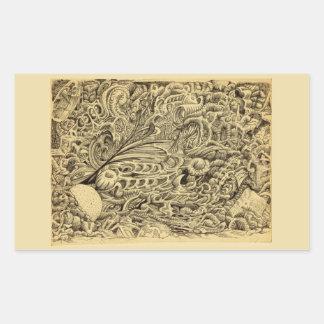 Sick Chamber_by Brian Benson Rectangular Sticker