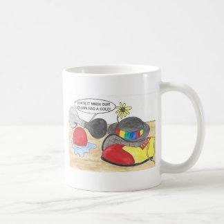 Sick Clown, Wet Nose Coffee Mug