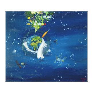 Sick Earth 2008 Canvas Print