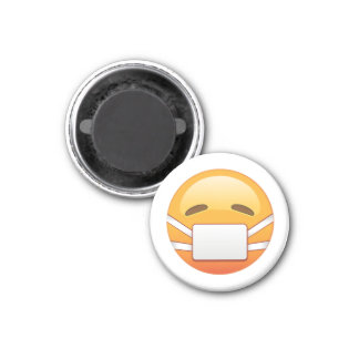 Sick - Emoji Magnet