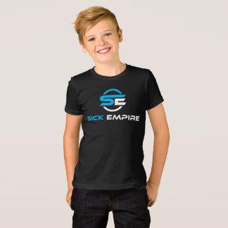 Sick Empire - Boys Tee 1 (Blue & White Logo)