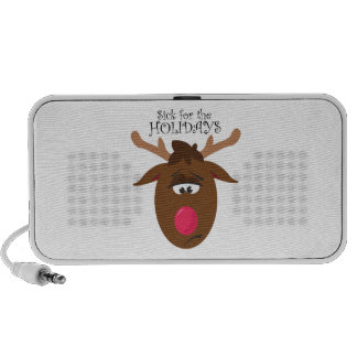 Sick for the Holidays Laptop Speakers