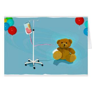 Sick_lil_Bear Greeting Card