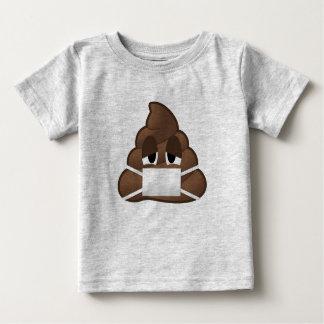 Sick Mask Poop Emoji Baby T-Shirt