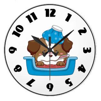 Sick Puppy Clock