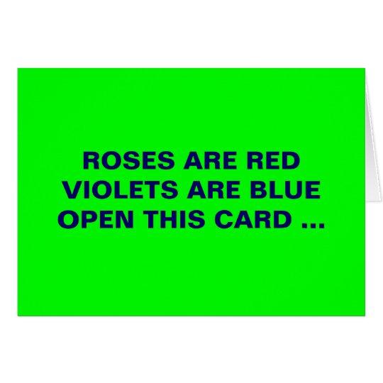 SICK ST VALENTINES CARD